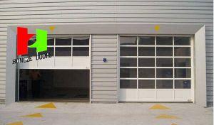 Automatic Commercial Crystal Door Transparent Door Polycarbonate Roller Door (Hz-FC040) pictures & photos