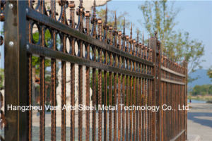 High-Quality Attractive Decorative Residential Industrial Galvanized Steel Fence pictures & photos