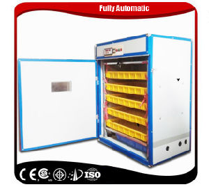 High Quality& Hatching Rate Automatic Ostrich Egg Hatch Machine pictures & photos