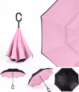 2016 New Design Inside out Magicbrella G Handle Inverted Umbrella pictures & photos