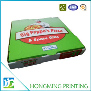 China Manufacturer Custom Printed Cheap Paper Pizza Box pictures & photos