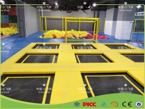 Commercial Fitness Used Indoor Trampoline Park with Dodge Ball for Children pictures & photos