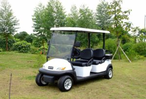 Ce Certificated 4 Seat Electric Golf Buggy China Made pictures & photos