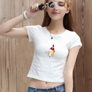 Small Size Digital Tshirt Garment Printer with White Ink pictures & photos