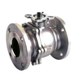 High-Platform Pad Flanged 150lb Stainless Steel Ball Valve pictures & photos