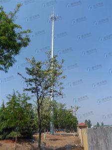 Galvanized Telecommunication Steel Monopole