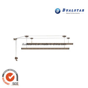 Metal Hand-Operated Lifting Clothes Hanger
