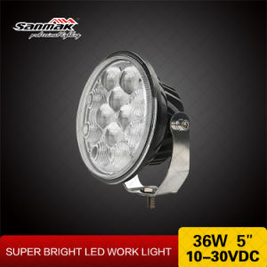 Headlight 5.5′′ 36W Upgrated Round LED Work Light pictures & photos