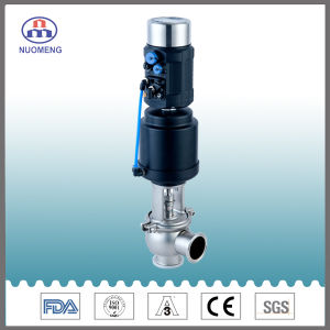 Stainless Steel Clamp Stop Valve pictures & photos