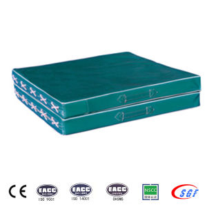 High Quality Sponge 10cm Gymnastic Mat for Competition pictures & photos