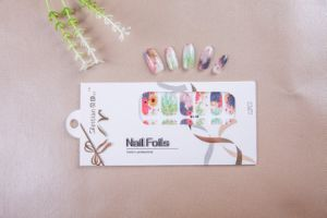 Beauty Flowers Temporary Water Transfer Nail Sticker Art Nail Sticker pictures & photos