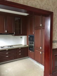 High Quality Apartment Furniture Project Kitchen Cabinet Design (FOH-MKC1351) pictures & photos