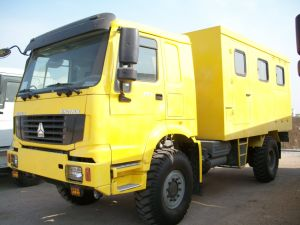Sinotruck 4X4 Mobile Workshop for Maintenance and Repair pictures & photos