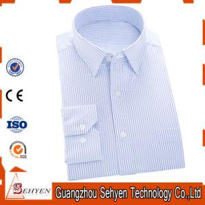 Men Light Purple Formal Business Dress Shirt of 100% Cotton pictures & photos