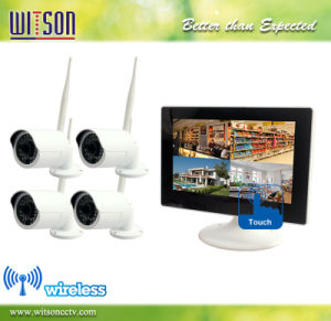 CCTV 9 Inch Digital P2p WiFi Wireless Touch Screen IP Network NVR Security System Camera Kit pictures & photos