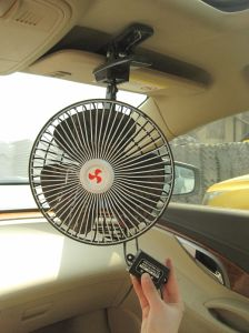 Metal Front Plastic Back 8 Inch Car Fan (WIN-118) pictures & photos