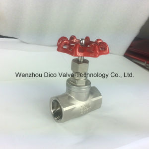 High Quality Ss316 200wog Female Thread Globe Valve pictures & photos