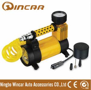 12V Mini Car Tyre Inflator with LED Light (W2020)