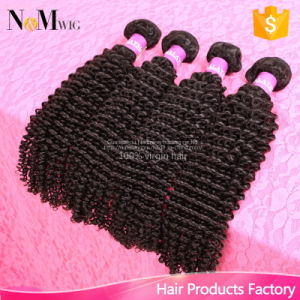 Sew in Weave Virgin Hair 8A Mongolian Kinky Curly Hair pictures & photos