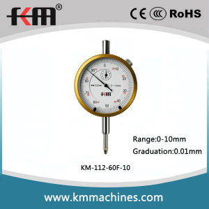 High Quality Precision Dial Indicator with Golden Bezel pictures & photos