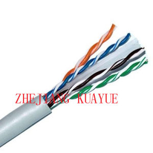 Network Cable CAT6 0.57mm Copper Pass Fluke 305m. Roll/Computer Cable/ Data Cable/ Communication Cable/Lin′an Cable pictures & photos