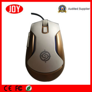 Seven Colorful Backlit Wired Gaming 6D USB Optical Mic Mouse pictures & photos
