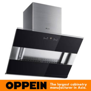 Oppein High Quality Stainless Steel and Tempred Glass Range Hood (CXW-200-E635) pictures & photos