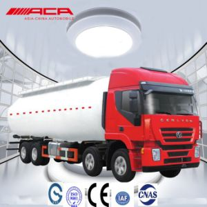 Saic-Iveco Hongyan 8X4 380HP Bulk Powder Tank Truck pictures & photos