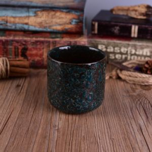 Popular Size Reactive Ceramic Candle Holder pictures & photos