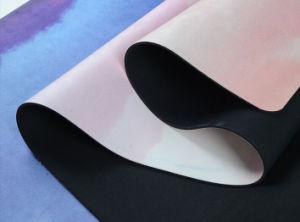 Geometry Pattern Printing Yoga Mat Good Elasticity Rubber Yoga Mat pictures & photos