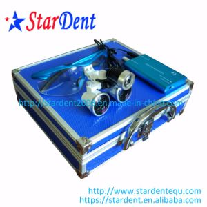 Dental Equipment of Dental Surgical Loupes with LED Light pictures & photos