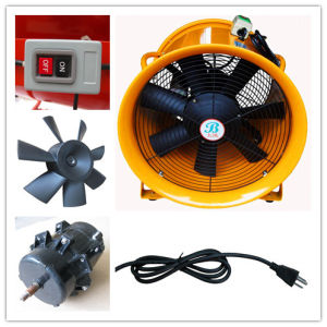 "250mm 10"" 110 Volt Industrial Portable Exhaust Fan pictures & photos"