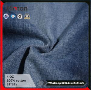 Summer Style Jeans Garment 100% Cotton 4 Oz Denim Fabric pictures & photos
