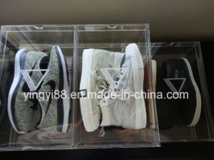Best Selling Acrylic Shoe Display with Logo pictures & photos