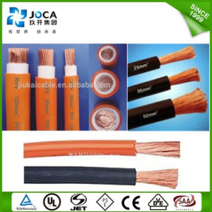 Soft Bare Copper Stranded Rubber Jacket Electric Welding Machine Cable pictures & photos