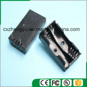 2AA Battery Holder with Contact Pin pictures & photos