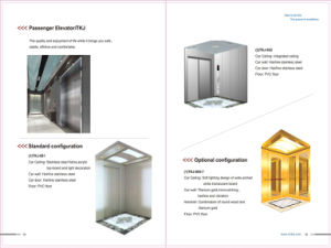 Indoor Glass Residential Sightseeing Panoramic Observation Outdoor Elevator pictures & photos
