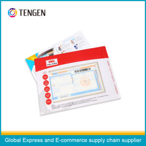 Cardboard Packaging Envelope with Clear Window pictures & photos