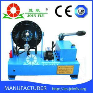 Rubber Pipe Manual Hydraulic Hose Crimping Machine (JKS160) pictures & photos