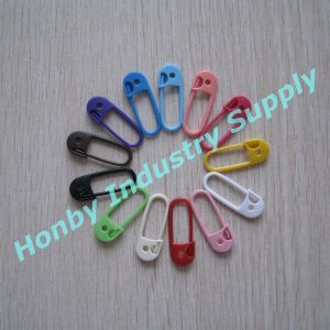 30mm Colorful Plastic Stitch Markers Knitting Pin