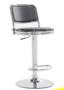 PU Upholstery Stool with Backrest (LL-BC044) pictures & photos
