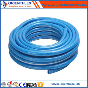 PVC Knitted Garden Hose Flat pictures & photos