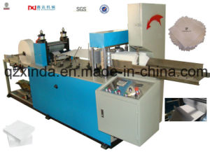 Color Printing Square Napkin Paper Folding Machine pictures & photos