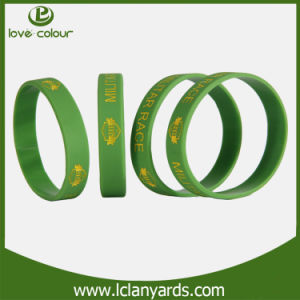 College Friendship Bracelets Silicone Material Band for Sale pictures & photos