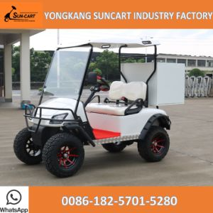 2 Seater Mini Utility Cart, Golf Cart with Rear Cargo Bed pictures & photos