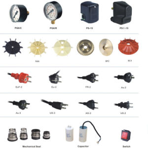 Copper Wire Electric Booster Peripheral Water Pump with Pipe Fitting pictures & photos