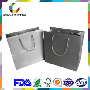 Professional Factory Supply Black Cardboard Bag for Boots pictures & photos