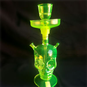 Popluar Cheap Glass Hookah with LED pictures & photos