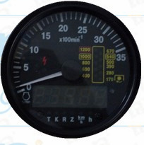 The 0-35 Digital Odometer with Hour Meter pictures & photos