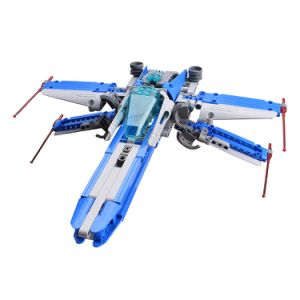 57354005W-Building Blocks Star Wars X-Fighter DIY Aircraft Building Kit Toys pictures & photos